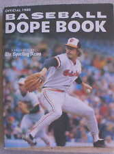 OFFICIAL BASEBALL DOPE BOOK 1980 Edition Mike Flanagan Keith Hernandez L@@K WOW!