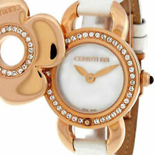 CERRUTI LADIES FIORE SWISS QUARTZ WATCH NEW MOP ROSE GOLD TONE SS CT68252X1IR032