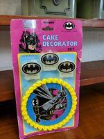Vintage Batman Cake Decorator Set 1994