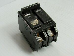 GENERAL ELECTRIC GE CIRCUIT BREAKER THQB250 2 POLE 2P 50 AMP A 50A