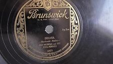 Red Nichols - 78rpm single 10-inch – Brunswick #4373 Indiana & Dinah
