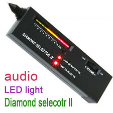Black Diamond Gem Tester Selector II V2 w/ Case Gemstone Platform Jeweler Tool