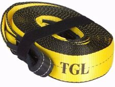 "TGL 3""X30FT Recovery Strap-30,000 LB Capacity Tow Rope Auto ATV Winch Off Road"