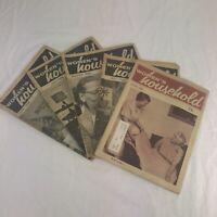 5 Vintage WOMEN'S HOUSEHOLD Magazines 1966-68 Craft Patterns Stories