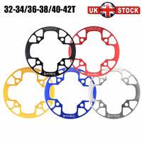 UK MTB Road Bike CNC Crankset Chainwheel Chain Guard 32/34/36/38/40/42T