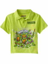 Infant & Toddler Boys Green Teenage Mutant Ninja Turtles Tnmt T-Shirt Tee 2T