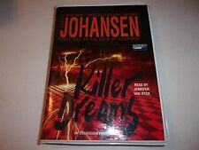 Lot of (5) Iris Johansen unabridged suspense audio books