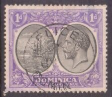 "DOMINICA   POSTMARK / CANCEL   ""DELICES  DOMINICA""  on George 5th"