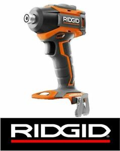 NEW RIDGID 18 VOLT COMPACT CORDLESS BRUSHLESS 3 SPEED IMPACT DRIVER - R86038