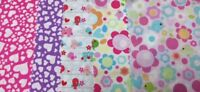 "Fabric Patchwork Squares CHARM PACK 5"" 12.5cm 100% cotton Designer cuts Quilting"