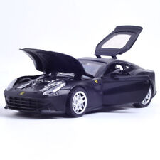 1:32 Ferrari F12 Berlinetta Metal Diecast Model Car Toy Sound&Light Black Gift