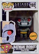 "BATMAN ROBOT The Animated Series Pop Heroes 4"" inch Vinyl Figure #193 Chase 2017"