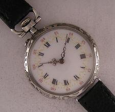 ALL ORIGINAL Fully Serviced C.CRETTIEZ 1890  French Gent's Wrist Watch Perfect