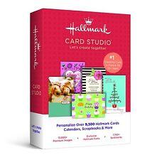 Hallmark Card Studio 2015 for Christmas, Birthdays, Scrapbooks, Crafts  & More