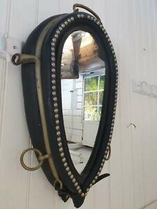 Vintage horse collar mirror - Farmhouse Country Rustic Vintage Decor