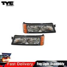 TYC Pair Turn Signal Parking Light Assy Left+Right For Silverado 1500 HD 03-06