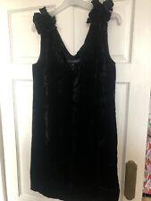 Black Velvet French Connection Party Dress 10