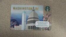 2016 Washington DC Starbucks Gift Card NEW AND IN STOCK + Bonus