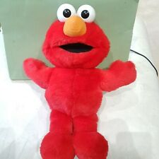 Elmo Soft Toy Plush Laughing, giggling, vibrating Elmo toy by Tyco 13 inch