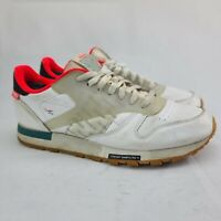 Reebok Classic Leather ATI Mist Shoes Men's Size 9.5 White Sneakers
