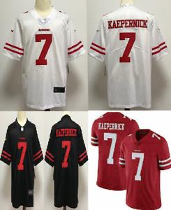 #7 COLIN KAEPERNICK Jersey San Francisco 49ers Jerseys Champions Fan Football