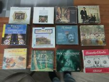 Cd Sammlung Klassik 48 Stück Raritäten und Co top Boxen Mozart, Beethoven, Co