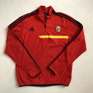 Adidas RC Lens Red Long Sleeve Fleece Training Kit - Size Medium