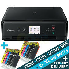 Canon PIXMA TS5050 All-in-One Wireless Wi-Fi Colour A4 Printer + 2 Sets XL Inks