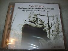 CD - MUSIQUES INEDITES DU CINEMA FRANÇAIS - MAURICE JARRE - CINEMUSIQUE - SEALED