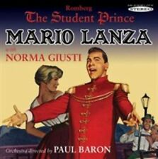 The Student Prince by Mario Lanza (CD, 2012, Sepia Records)