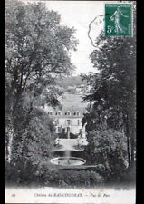 PLESSIS-CHENET (91) CHATEAU du BAS-COUDRAY , BASSIN du PARC en 1910