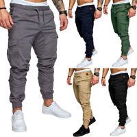 New Men Sport Joggers Hip Hop Jogging Fitness Casual Pants Trousers Sweatpants