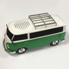 RADIO FM ALTOPARLANTE FORMA MINIBUS BLUETOOTH USB DISPLAY A LED AKAI VERDE