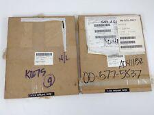 2 Vintage Dupont Safelight Filter 10x12 Amber Glass Darkroom S-55x