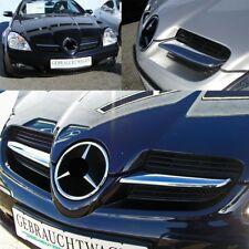Capot le Kühlergrillfinnen Ailerons Chrome pour Mercedes SLK R171 2004-2008