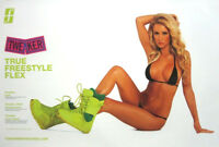Forum Snowboards 2013 Tweaker Hot Girl small promo poster New Old Stock Flawless