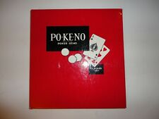 Vintage 1980's Pokeno Board Game 100% Complete