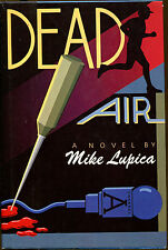 Dead Air by Mike Lupica-First Edition/DJ-1st Peter Finley Mystery