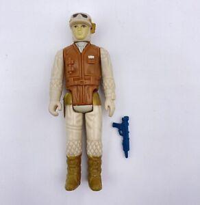 Vintage Star Wars Rebel Soldier Action Figure 1980 Kenner Unpainted Front Torso