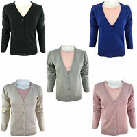 Ladies Winter Cardigan Dress Long Sleeve Button Women Warm Knitted Knit Jumpers