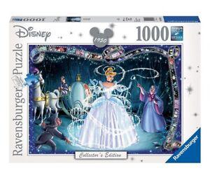 NEW! Ravensburger Disney Moments 1950 Cinderella 1000pc Puzzle