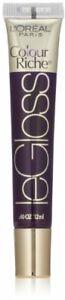 L'Oréal Paris Colour Riche Le Gloss, Plum Rush, 0.4 fl. oz.