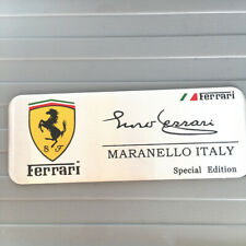 2pcs metal car badge logo modena Italy stickers fit for Ferrari