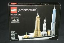 LEGO ARCHITECTURE 21028 NEW YORK (2016) NEW SEALED SKYLINES SERIES
