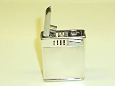 K50 (K=KÖLLISCH) GERMAN ART DECO SEMI-AUTOMATIC LIGHTER W. 935 SILVER CASE -RARE