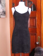 Ralph Lauren Black 50% Angora Sweater Dress Fitted Small Sexy Soft LBD Small