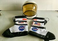 Nasa-Themed Aeromax Get Real Gear Astronaut Space Helmet & Boots Child
