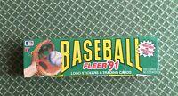 Three (3) sets 1991 Fleer Baseball Factory Sealed Set 732 cards 50 stickers