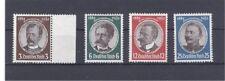 Deutsches Reich Michel Nr. 540 - 543 Kolonialgedenkfeier postfrisch.