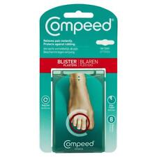 * COMPEED BLISTER PLASTERS ON TOES 8 PACK RELIEVES PAIN INSTANT STAYS IN PLACE